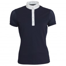 Mark Todd Women's Amber Competition Polo Shirt (Navy)