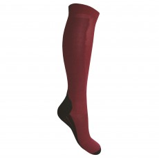 Mark Todd Comfort Socks (Burgundy)