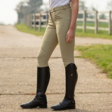 Mark Todd Women's Winter Performance Breeches (Beige)