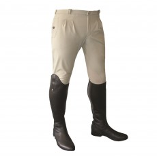 Mark Todd Men's Winter Performance Breeches (Beige)