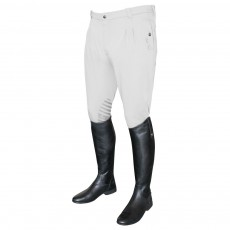 Mark Todd Men's Coolmax Grip Breeches (White)