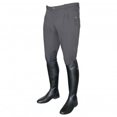 Mark Todd Men's Coolmax Grip Breeches (Grey)
