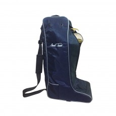 Mark Todd Sports Luggage Boot Bag (Navy/Silver)