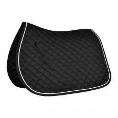 Mark Todd Piped Saddlepad (Black & White)
