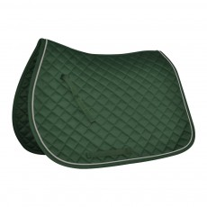 Mark Todd Piped Saddlepad (Green & White)