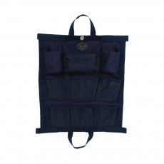 Mark Todd Hanging Kit Bag (Navy & Silver)