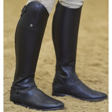 Mark Todd Adults Long Leather Competition Riding Boot (Black)