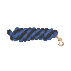 Mark Todd Cotton Lead Rope (Navy & Royal)