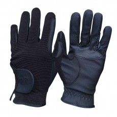 Mark Todd Kid's Super Riding Gloves (Navy)