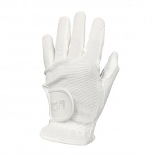 Mark Todd Kid's Super Riding Gloves (White)