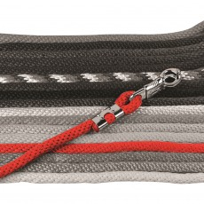 Mark Todd Brass Clasp Lead Rope (Red)