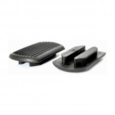 JHL Stirrup Treads Pair (Black)
