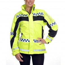 Equisafety Women's POLITE Aspey Winter Jacket  (Yellow)