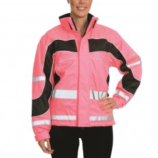 Equisafety Women's Aspey Winter Jacket  (Pink)