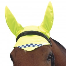 Equisafety Reflective Fly Veil (Yellow)