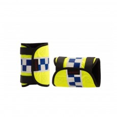 Equisafety POLITE Reflective Adjustable Leg Bands (Yellow)