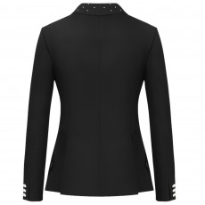 Cavallo Ladies Cannes mP Show Jacket (Black/Pearls)