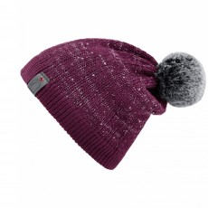 Cavallo Ladies Julietta Knitted Hat (Dark Fuscia)