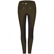 Cavallo Ladies Caja Grip Breeches (Deep Forest/Graphite)