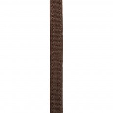 JHL Half Rubber Show Reins (Brown)