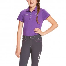 Ariat Youth FEI Polo (Purple Heather)