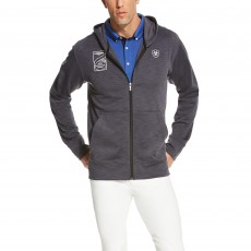 Ariat  (Sample) Men's FEI World Cup Milton Hoodie (Black)