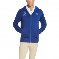 Ariat Men's FEI World Cup Milton Hoodie (Mazarine Blue)