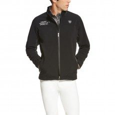Ariat Men's FEI World Cup Bodymap Softshell Jacket (Black)