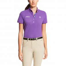 Ariat Women's FEI Polo (Purple Heather)