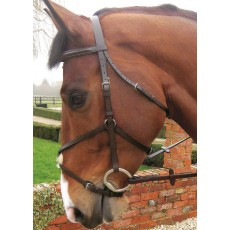 JHL Grackle Bridle (Brown)