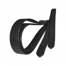 JHL Stirrup Leathers (Black)