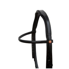Albion Padded Head Piece for KB Competition Snaffle Bridle