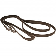 JHL Leather Draw Reins (Brown)