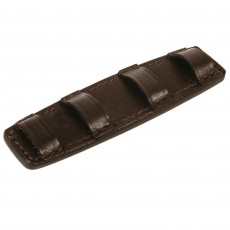 JHL Leather Curb Chain Guard (Brown)