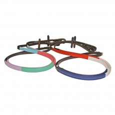 JHL Rubber Training Reins (Blue, Pink, Green & Lilac)