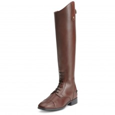 Ariat (Sample) Women's Challenge Contour Square Toe Field Zip Boots (Cognac)