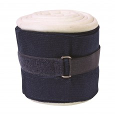 JHL Padded Support Bandages (Navy & White)
