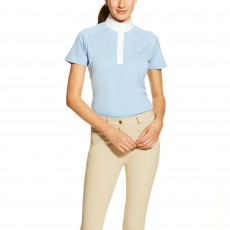 Ariat Women's Showstopper Short Sleeve (Blue Oxford)