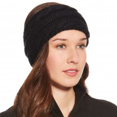 Ariat (Sample) Unisex Snug Cable Headband (Black)