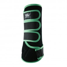 Woof Wear Dressage Wrap Colour Fusion (Black/Mint)