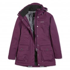 Musto Women's Long Canter BR1 Jacket (Damson)