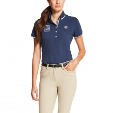 Ariat Women's FEI World Cup Polo (Navy)