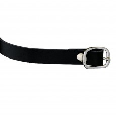 Sprenger Leather Spur Straps (Black)
