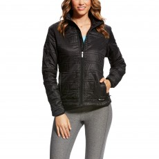 Ariat (Sample) Women's Ideal Quilted Wind Jacket (Black)