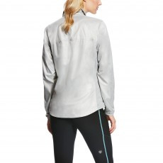 Ariat Women's Ideal Windbreaker Jacket (Heather Grey)