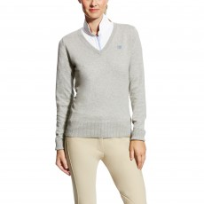 Ariat Women's Cotton Ramiro Sweater (Heather Grey)