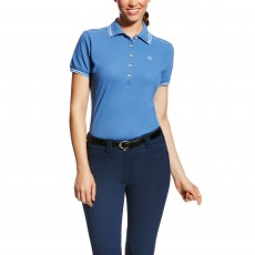 Ariat Women's Prix Polo (Blue Saga)