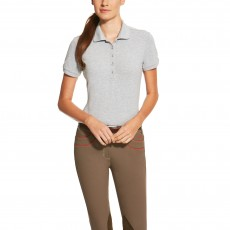 Ariat Women's Prix Polo (Heather Grey)