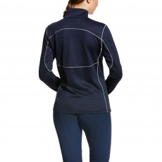 Ariat Women's Menlo Half Zip (Navy)