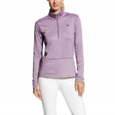 Ariat Women's Menlo Half Zip (Plum Shadow)